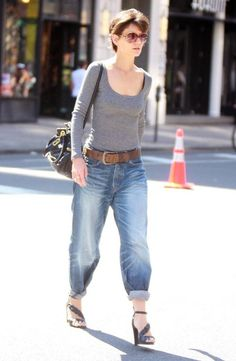 Casual Street Style - Katie Holmes Fashion Retrospective - The Tom ...