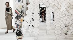 Jacob Hashimoto's ephemeral installation
