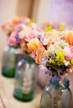 Romantic Rainbow :: bridal bouquets