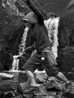 Griffin Upside Down Jacket - Blue £349 Griffin USMC Short - Sand/Khaki £165 #griffin #griffinstudio #menswear #fashion #sportswear #lovelife #lovesummer #ss14