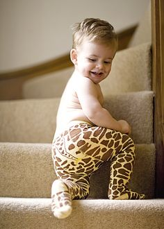 Baberoo Giraffe Tights