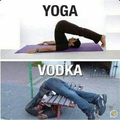 Pois... não pratique vodka!...