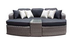 United Outdoor Furniture - $1699.00 - Noosa - In Half Round Wicker - 4 Pc Day Bed