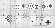 scissors snowflakes - complimentary pattern available on Patrick Woods site dated 12/19/13. Includes fabric and thread recommendations and template for finishing. Thank you Sherri!