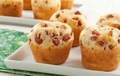 Muffin de Pão de Queijo e Linguiça