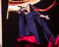Ukraine participated in and won the Eurovision Song Contest 2016 with the song written and performed by Jamala. Georgia, Eurovision Songs, Concert, Ukraine, Singers, Women, Trends, Recital, Concerts
