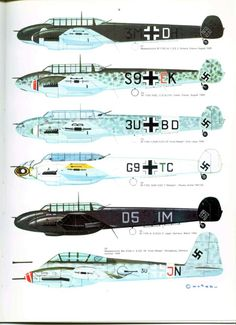 S06 Luftwaffe Colour & Markings 1935-1945 Vol. 1 Page 31-960