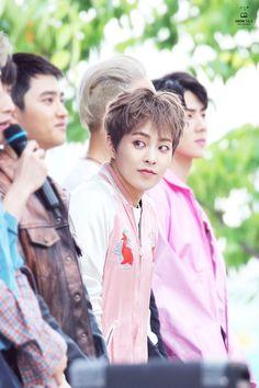 Hi bunny ♡ Exo Xiumin, Kim Minseok Exo, Kendo, Xiumin Instagram, Taekwondo, Exo Official, Xiuchen, Exo Korean, Kim Min Seok