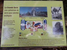plan de la  grande serre du parc de la tête d'or