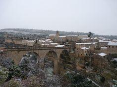 Minerve sous la neige