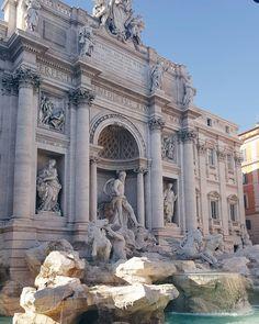 Rome forever ❤    #italy #rome #lacittaeterna #holiday #instafashion #instalike #travel #fashionblog #fblogger #fb #mademoisellagnestravelling #fontanaditrevi #loverome