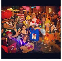Halloween costume! Mario kart