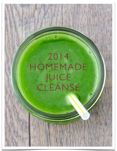 2014 Homemade Juice Cleanse