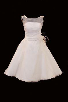 50's style wedding dress!