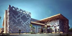 Dynamic Architecture, Mosque Architecture, Parametric Architecture, Architecture Design, Victorian Architecture, Architecture Drawings, Metal Facade, Facade Design, Exterior Design