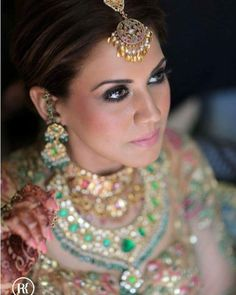 The Pastel Bride!  Designer dress by @ashimaleena  #Bride #bridal #wedding #weddingdress #weddingday #weddingphotography #photography #photooftheday #jewelry #indianbride #henna #weddingmakeup #makeup #bridalmakeup #bigfatindianwedding #necklace #eyemakeup #earrings #instadaily #instagood #picoftheday #instapic @wedmegood @indianweddings @weddingsutra @thebridalaffairind @weddingz.in @dulhaanddulhan