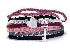 #Love #Story #Friendship #Bracelets #homemade #jewelry $45
