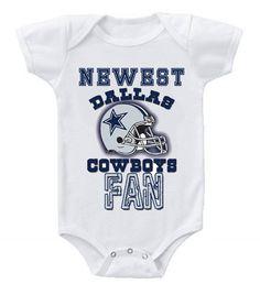 d14ae8f16a4 NEW Football Baby Bodysuits Creeper NFL Dallas Cowboys  2