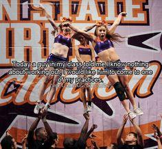 Yes.. #cheerleading