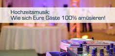 Blog-Artikel: #Hochzeitsmusik: Wie sich Eure Gäste 100% amüsieren! #Tanzmusik #Hochzeitslieder