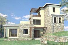 ΠΕΤΡΙΝΗ ΠΑΡΑΔΟΣΙΑΚΗ ΚΑΤΟΙΚΙΑ Houses, Mansions, Architecture, House Styles, Design, Home Decor, Homes, Arquitetura, Decoration Home