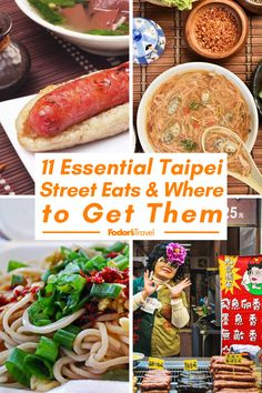 See some of Taipei's must-try street foods, as well as the shops and stalls that locals turn to for a fix of their favorites. #TaiPei #streetfood #foodie #yum #travel #adventure #bucketlist #wanderlust #traveltips