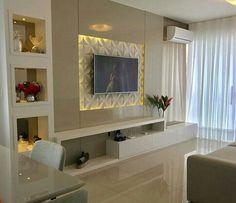 26 super Ideas for living room tv wall corner tvs Tv Unit Decor, Tv Wall Decor, Wall Tv, Tv Wall Mount, Modern Tv Wall Units, Wall Units For Tv, Wall Mounted Tv Unit, Cozy Family Rooms, Living Room Tv Unit Designs