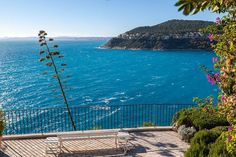 View from Saint Jean Cap Ferrat looking west, French Riviera Saint Jean Cap Ferrat, Somerset Maugham, Pine Forest, French Riviera, Luxury Villa, Monte Carlo, Monaco, Saints, France