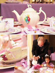 Sofia the First Inspired Royal Tea Party Birthday