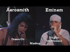 Eminem X Aerosmith - Sing for the Moment/Dream On Mashup (HQ Remake) Eminem Music, Music Songs, New Music, Music Videos, Aerosmith, Eminem Videos, Still I Rise, Steven Tyler, Janis Joplin