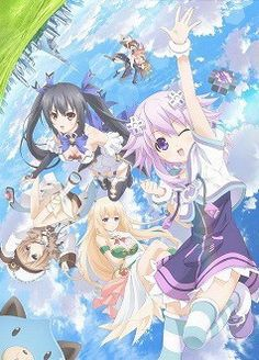 """Neptunia"" Anime Villain and Theme Song Singer Characters Previewed"