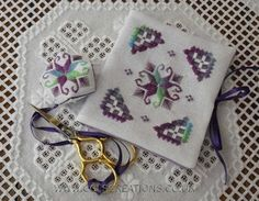 Col's Creations - Traditional Hardanger Designs - The Miscellaneous Collection