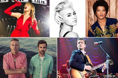 Taylor Swift, Miley Cyrus,Bruno Mars, Macklemore And Ryan Lewis,and Justin Timberlake New Community, Justin Timberlake, Miley Cyrus, Billboard, Storytelling, How To Memorize Things, Good Things, Mens Fashion, Movie Posters