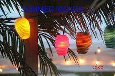 SUMMER nights Facebook cover cj xx