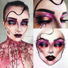 "985 Likes, 9 Comments - Sergey X (@milk1422) on Instagram: ""#artistmilk1422 #artist @mattsonmua Amazing fine work! Very nice ❤ thank you so much…"""