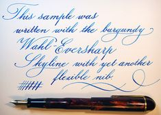 Wahl Eversharp skyline burgundy writing | por Tostrupaci