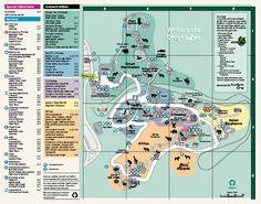 Oregon Zoo Map 2009