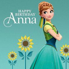 21/06  Happy birthday princes Anna