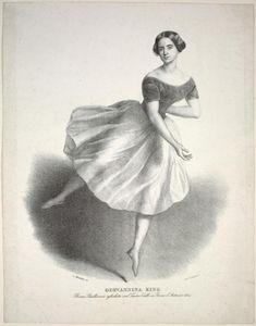 Giovannina King prima ballerina assoluta nel Teatro Valle in Roma l'autunno 1844  [Unidentified ballet] ([1844])