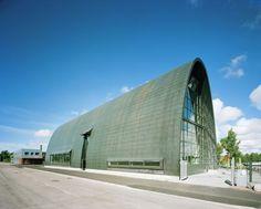 Wooden Boat Centre, Kotka, Finland - Lahdelma & Mahlamäki Architects Wooden Boats, Helsinki, Museums, Finland, Galleries, Architects, Centre, Tours, Sculpture