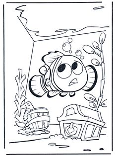 free nemo coloring pages
