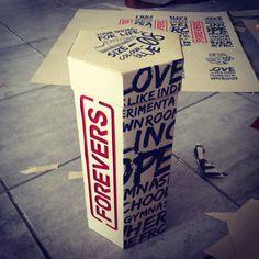 Shoe Packaging. PD