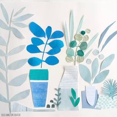 Julie Hamilton collage sketchbook Paper Collage Art, Flower Collage, Painting Collage, Paper Art, Paintings, Collage Illustration, Encaustic Art, Painted Paper, Mixed Media Collage