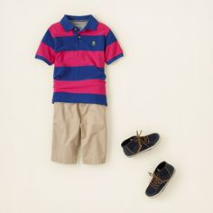 boy - outfits - short stop - red, blue and new | Children's Clothing | Kids Clothes | The Children's Place
