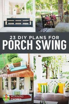 23 Free DIY Porch Swing Plans