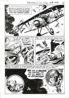Star Spangled War Stories #149 p.12, Joe Kubert