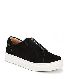 sale retailer 254b3 e62e9 Naturalizer Cyan Suede Zip Up Sneakers Suede Sneakers, Boat Shoes, Zip Ups,  Shoe