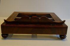 Elegant Large English Regency Mahogany Lectern / Book Rest c.1820