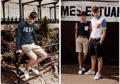 Lyle & Scott Men Vintage Spring/Summer 2012 Lookbook: Slim & Outstanding Young Looks With A Good Catch Of Contemporary Young Men's Fashion Trends