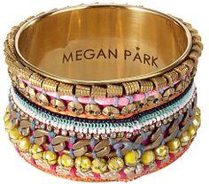 トライバルブレスレットで今年らしく。Megan Park ISHANI BRASS BANGLE on ShopStyle